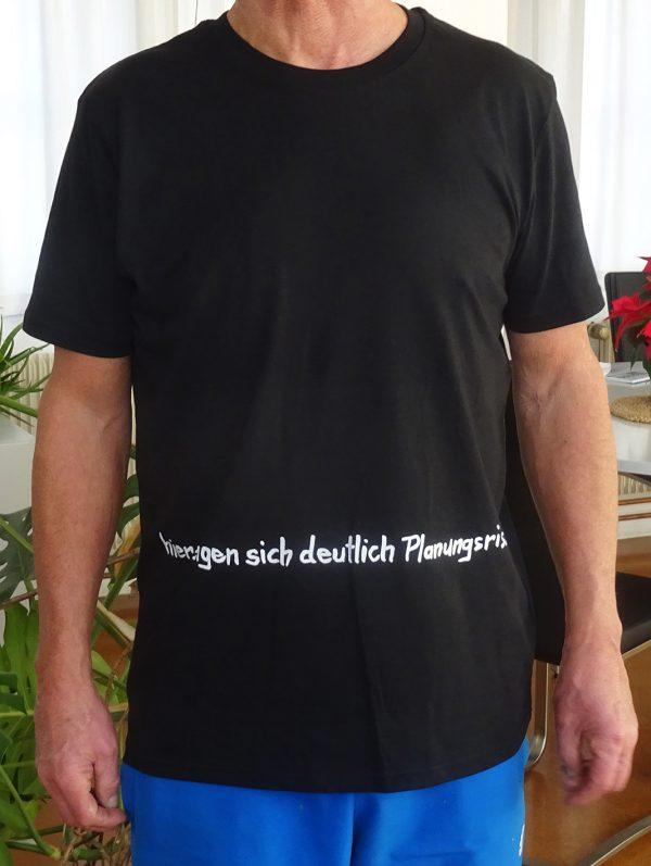 Palmtag Shirt Planungsrisse vorn
